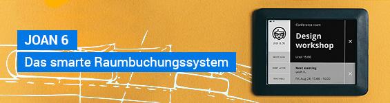 JOAN Manager Raumbuchungssystem - schwarz