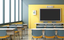 Klassenraum Display