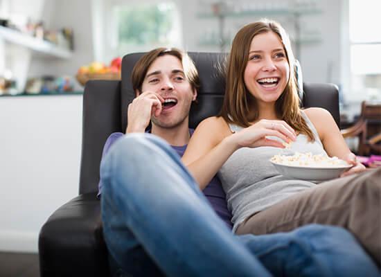 Beamer oder Fernseher für Ihr Zuhause