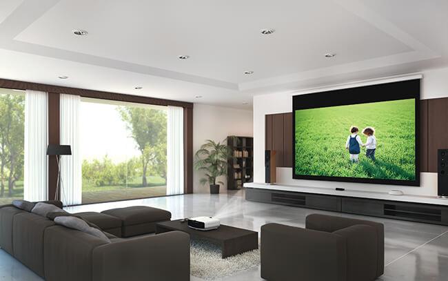 Beamer Nutzung Zuhause Im Heimkino Oder Wohnzimmer