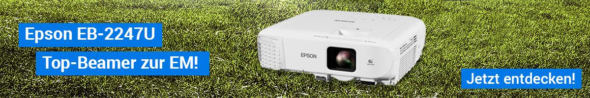 Epson EB-2247U | Top-Beamer zur EM!