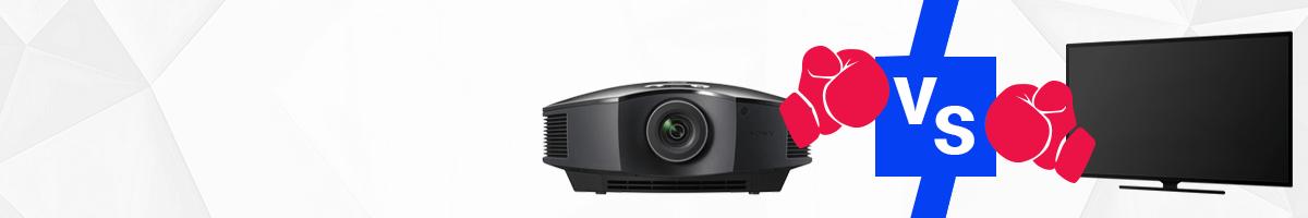 Beamer oder Fernseher? | Die Vor- und Nachteile von Projektor und TV-Gerät