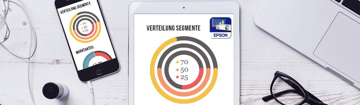 Epson iProjection App für mobile Projektionen
