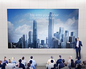 Samsung Smart LED Signage IF020HS Full-HD Paket LED-Wall 2.0mm Pixel Pitch