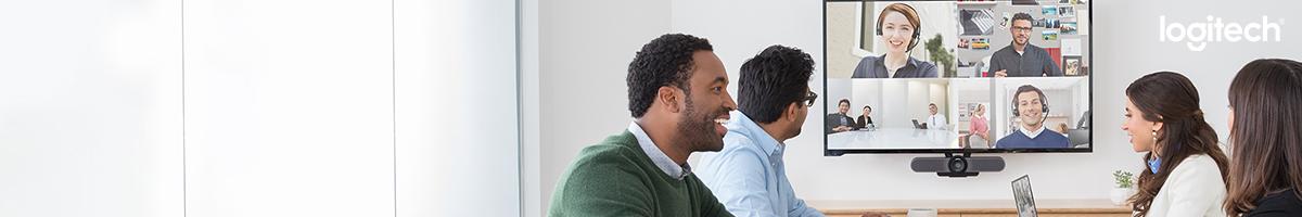 Damit machen Meetings Spaß! Videokonferenz-Lösungen von Logitech!