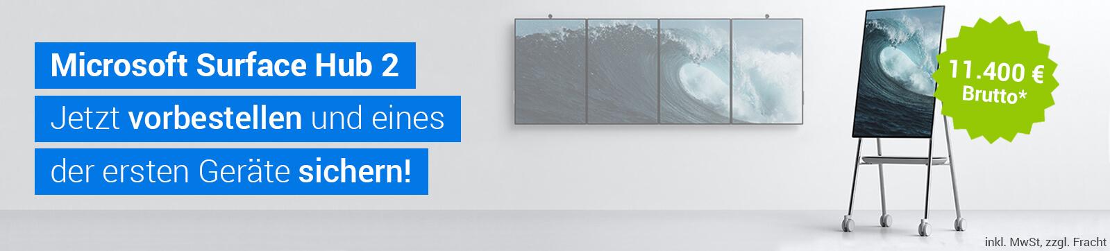 Microsoft Surface Hub2 - Jetzt vorbestellen