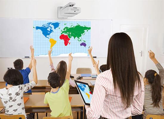Beamer in Bildungseinrichtungen