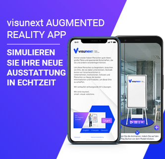visunext AR App « Büroausstattung einfach simulieren