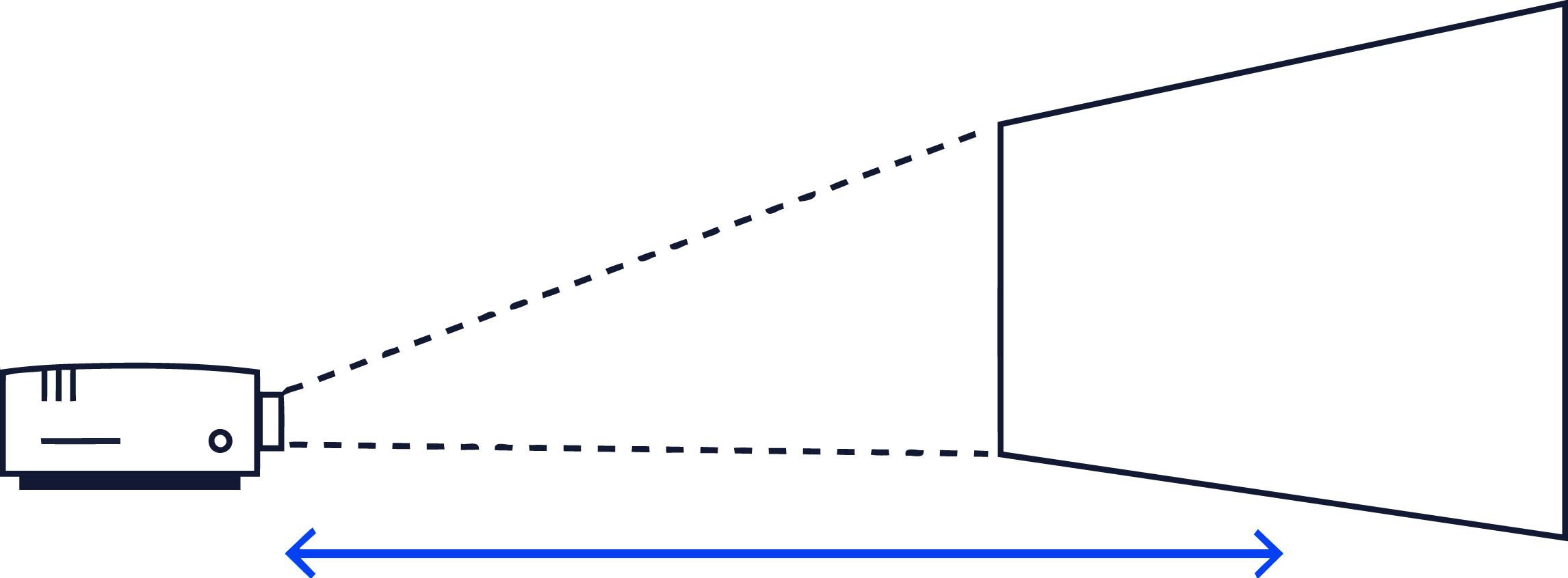 projektionsfl chenberechner abstand bildgr e berechnen. Black Bedroom Furniture Sets. Home Design Ideas